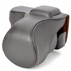 Protective PU Leather Case for Sony NEX-5N - Coffee