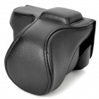 Protective PU Leather Case for Sony NEX-5N - Black