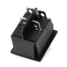 4-Pin On/Off Rocker Switches with Green Light Indicator (5-Piece Pack)