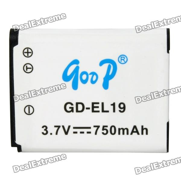 GOOD Replacement GD-EL19 3.7V 750mAh Battery Pack for Nikon S2500 / S3100 / S4100 объектив для фотокамеры nikon s2600 s3100 s4100 s4150