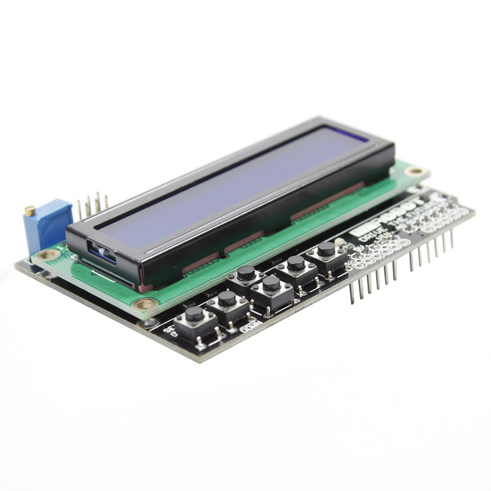 Lcd keypad shield expansion board for arduino uno free