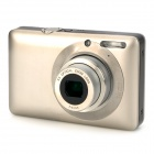"DC-800 5.0MP Digital Camera w / optischem 5fach-Zoom / SD - Champagne (2,7 ""Touch Screen)"