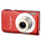 SDI500 5.0MP CMOS Digital Video Camera w/ 5X Optical Zoom / SD - Red (2.7