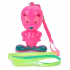Cool Flashing 3-LED Multi-Colored Light Cartoon Figure with Strap (3 x AG10)