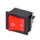 6-Pin Rocker Switches with Red Light Indicator (5-Piece Pack)