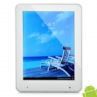 "ZBS A6000 8 ""Kapazitive Android Tablet 4,0 W / WiFi / Kamera / TF - Silber + Weiß (1,2 GHz / 8 GB)"