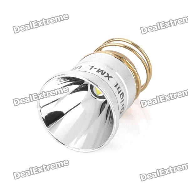 Genuine UltraFire 26.5mm LED Drop-In Module - Silver + Golden (DC 4.2V)