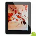 "ZBS A9000 9.7 ""Kapazitive Android Tablet 4,0 W / Dual-Kamera / WLAN / HDMI - Silber (1,5 GHz / 16GB)"
