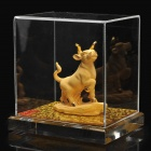 Decorative Chinese Zodiac Golden Statue Figurine - Ox
