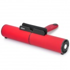 Portable Stereo Bluetooth Speaker Dock w/ USB Cable for iPod / iPhone - Red (3.5mm Audio Jack)