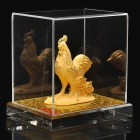 Gold Casting Display Decoration Collection Gift - Chinese Zodiac Rooster