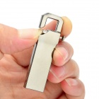 V210W Keychain Style Stainless Steel USB 2.0 Flash Drive - Silver Grey (16GB)