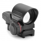 1X 33mm Red / Green Dot Sight Zielfernrohr - Schwarz