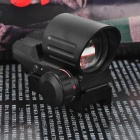 1X 33mm Red/Green Dot Sight Rifle Scope - Black