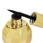 Cosmetic Makeup Waterproof Black Color Eyeliner Cream - Golden Yellow Bottle