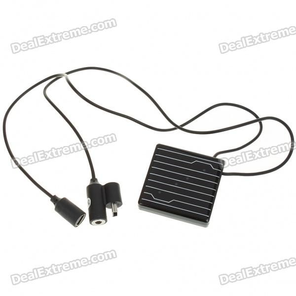 Solar Powered MP3 Player Necklace (1GB)