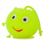 Smiling Face Chuzzle Deluxe Toy mit mehrfarbigen LED Light - Light Green (3 x LR44)