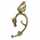 Stilvolle Fly Drachen Ohrringe - Bronze