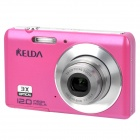 "KELDA HYTO-530 5.0MP CMOS Digital Camera Camcorder w/ SD / USB  - Deep Pink (2.7"" LCD)"