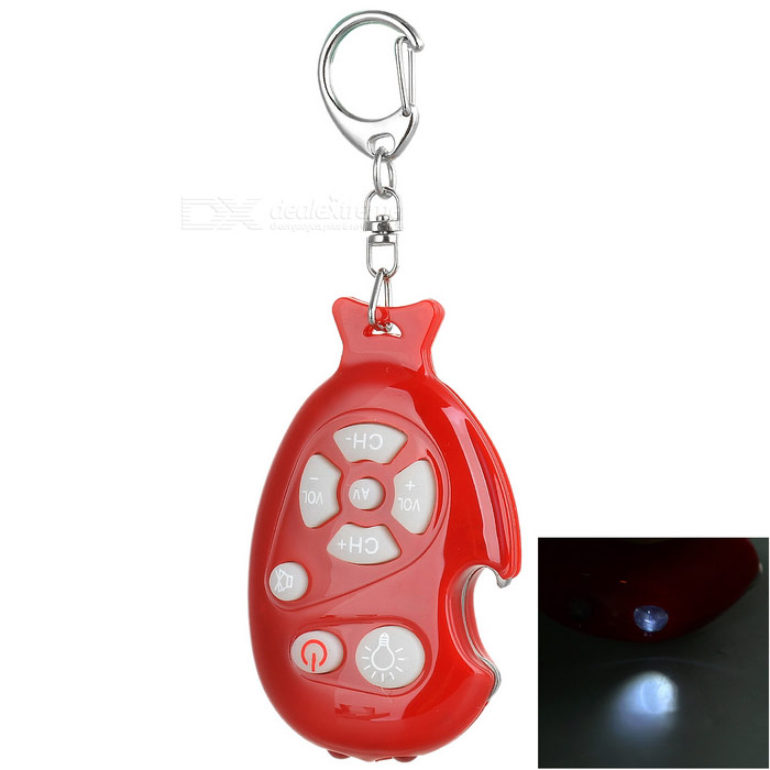 3-in-1 Universal TV Remote Controller Keychain with Bottle Opener and LED Flashlight automatic sliding door opener remote control power sliding door opener cover and rail are included