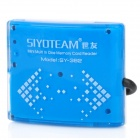 SY-382 Portable USB 2.0 SD / MicroSD / TF / MS / M2 Card Reader w/ USB Cable - Blue (32GB)
