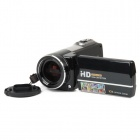 "HD-700 5.0MP CMOS Digital Video Recorder Camcorder w / 10X optischer Zoom / SD - Schwarz (3,0 ""Touch LCD)"