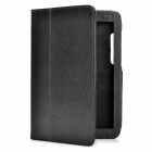 "Protective PU Leather Case for Motorola Xoom 2 8.2"" Laptop - Black"