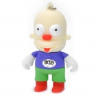 The Simpsons Krusty Figure Style USB 2.0 Flash Drive - White (8GB)