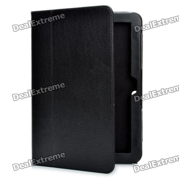 Protective PU Leather Case for Toshiba AT200 - Black compatible projector lamp shp113 tlp lw15 for toshiba tdp ew25 tdp ew25u tdp ex21 tdp sb20 tdp st20 tdp ex20 tdp ex20u tlplw15