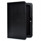 Protective PU Leather Case for Toshiba AT200 - Black