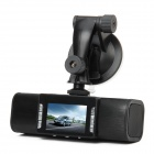 "TX130 5.0MP CMOS Wide Angle Car DVR Camcorder w/ 9-LED Night Vision / AV - Black (2.0"" TFT)"