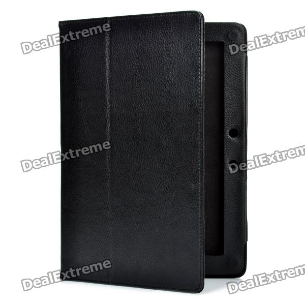 Protective PU Leather Case for ASUS Transformer Pad TF300 - Black asus transformer pad infinity tf700t в харькове