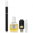 Quit Smoking USB Rechargeable Low Density Electronic Cigarette w/ Camel Flavor Tar Oil - Black