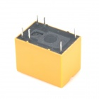HK4100F-DC12V-SHG 6-Pin Power Relays - Yellow (5-Piece)