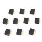 DIY Parts 2.54mm 2 x 4-Pin Female Headers (10-Piece Pack)