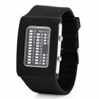 Cool 31-LED Wrist Watch with Date / Week Display - Black (2 x CR2016)
