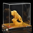 Decorative Chinese Zodiac Golden Statue Figurine - Tiger