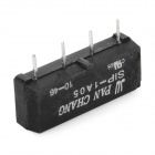 SIP-1A05 4-Pin Dry Reed Relay - Black (5-Piece Pack)