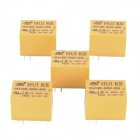 HK4100F-DC5V-SHG 6-Pin Power Relays - Yellow (5-Piece)