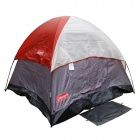 Dome 2 Person Hiking Backpacking Tent - Red