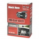 Mini 1.3MP CMOS Wide Angle Car DVR Camcorder  w/ TF - Black