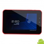 "7 ""Kapazitive Android Tablet 4,0 W / WiFi / Kamera / G-Sensor / External 3G - rot + weiß (8GB)"