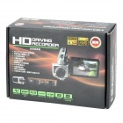 "5.0MP CMOS 1080P carro Wide Angle DVR Camcorder w / 4X Zoom Digital / HDMI / AV / SD (2,5 ""TFT LCD)"