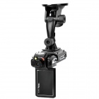 5.0MP CMOS 1080P Wide Angle Car DVR Camcorder w/ 4X Digital Zoom / HDMI / AV / SD (2.5