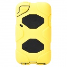 Cool Robot Style Full Protection Protective Case for iPod Touch 4 - Yellow + Black