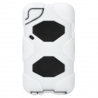 Cool Robot Style Full Protection Protective Case for Ipod Touch 4 - White + Black