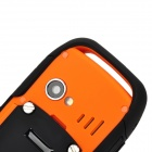 "BS88 Ultra-Rugged Waterproof GSM Cellphone w/ 2.0"" Screen, Dual-SIM and Bluetooth - Orange"