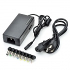 Universal 96W Power Adapter Charger for Laptop - Black (8 Connectors)