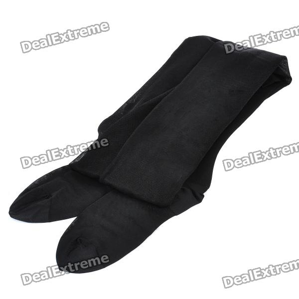 280D Elastic Compression Slimming Stockings Pantyhose - Black