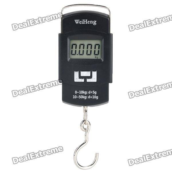 1.5 LCD Portable Double-Precision Hanging Electronic Hook Scale (2 x AAA) свитера толстовки adidas толстовка adidas con16 hoody an9889